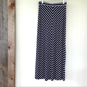 LOFT rayon & cotton blend skirt